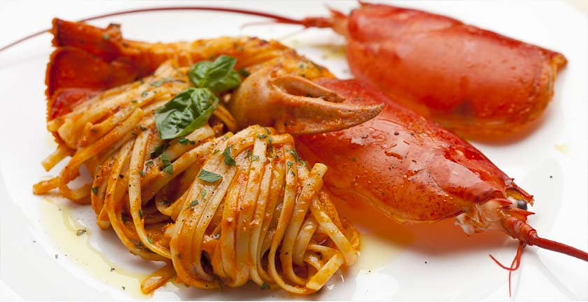 Linguine-gragnano all'aragosta