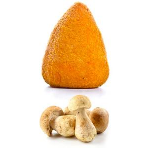 Frittierte Reisbällchen mit Pilzfüllung