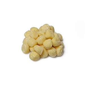 small gnocchi with flour