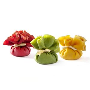 Flocons de crêpes tricolores