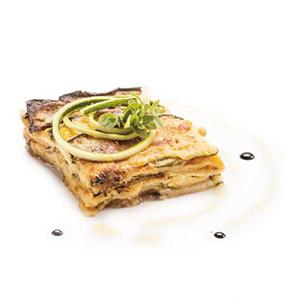Parmigiana mit Zucchini