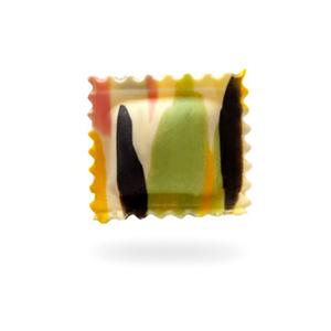 Ravioli aus Sorrento mit sautierten Miesmuscheln