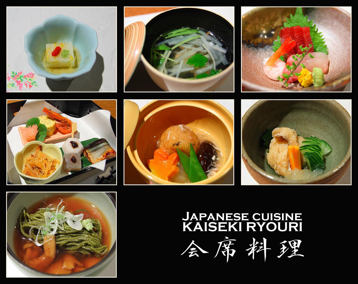 kaiseki cucina giapponese