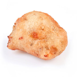 buñuelos de patatas y romero
