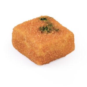Gebackener Mozzarella