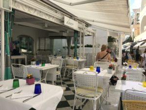 Ristorante D'Amore, Capri