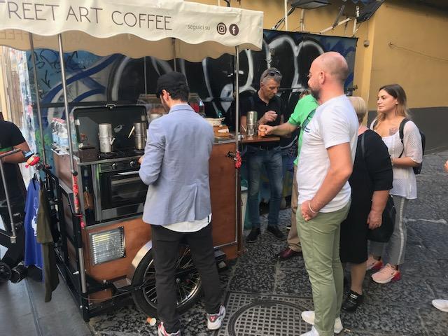 caffe street food napoli