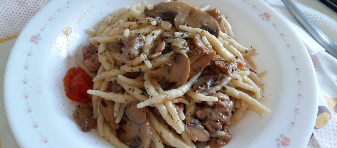 Trofie pasta italienne