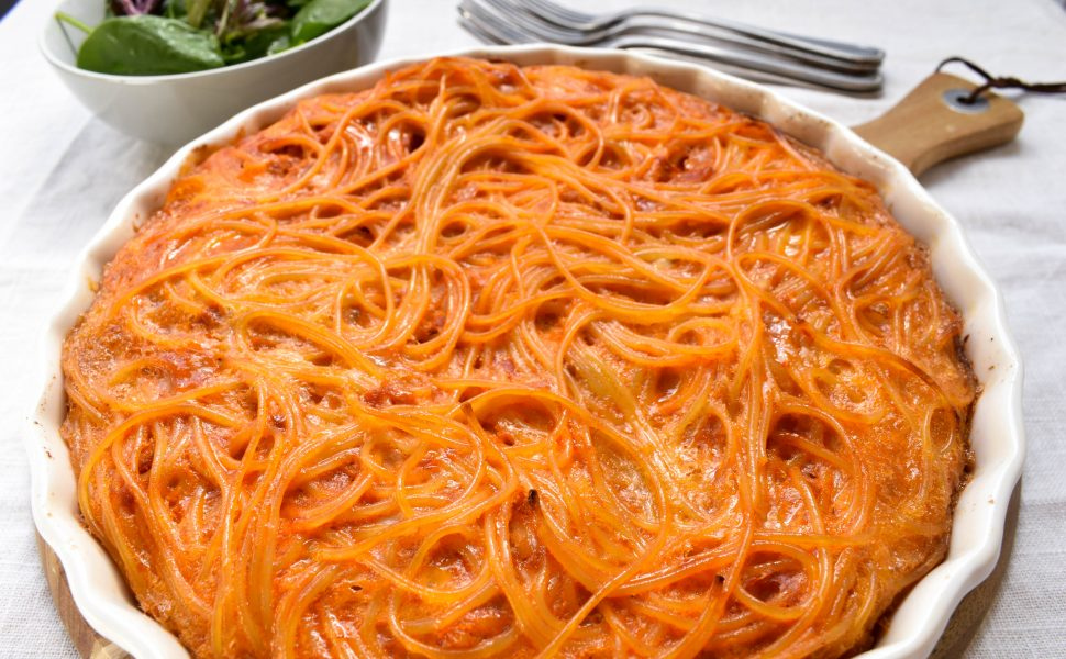 frittata de spaghetti