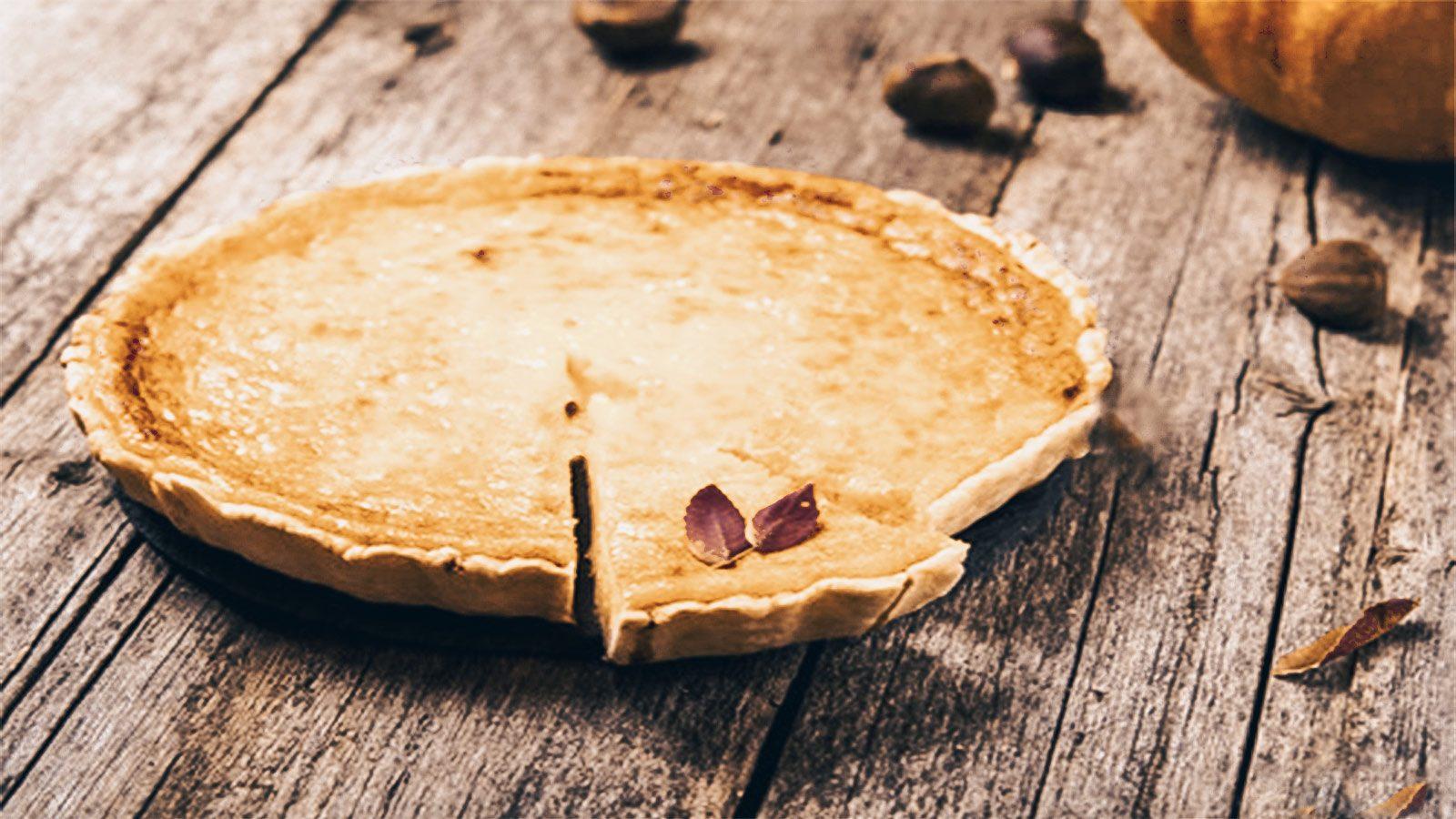 Crostata de Castañas y Chocolate