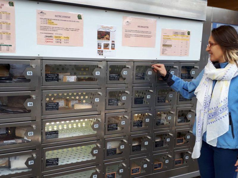 distributore automatico piatti pronti