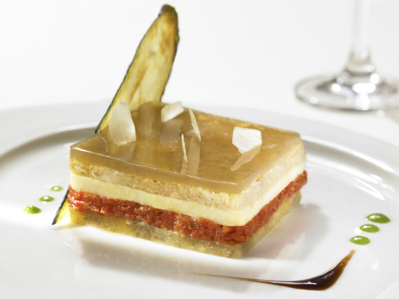 parmigiana di Vittorio beltramelli chef