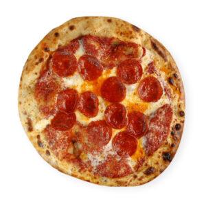 Calabrian salami pizza