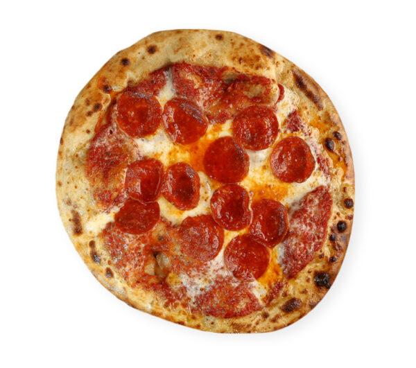 Pizza de salami de Calabria
